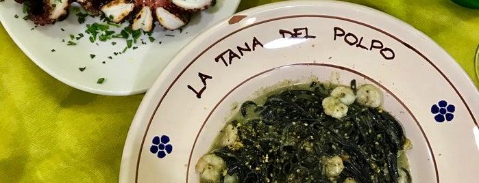 La Tana Del Polpo is one of Tempat yang Disimpan Florin.