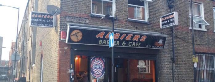 Algiers Barber Shop is one of สถานที่ที่บันทึกไว้ของ Kenneth.