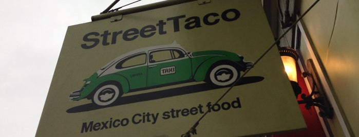Street Taco is one of San Francisco favorites.