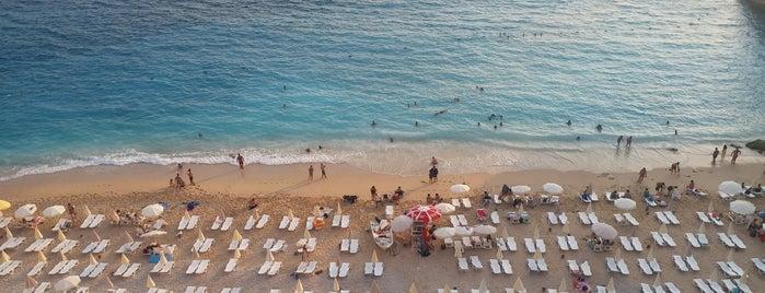 Kaputaş Plajı is one of Locais salvos de Cenk.