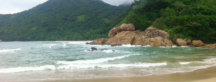 Praia do Rancho is one of Paraty.
