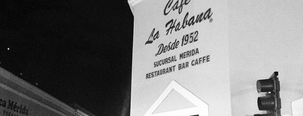 Café La Habana is one of Merida Tour.