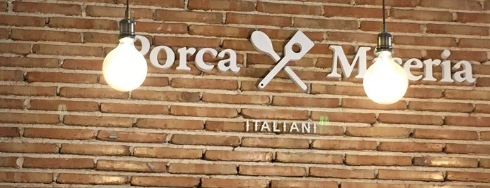Porca Miseria is one of Restaurants arround the world.