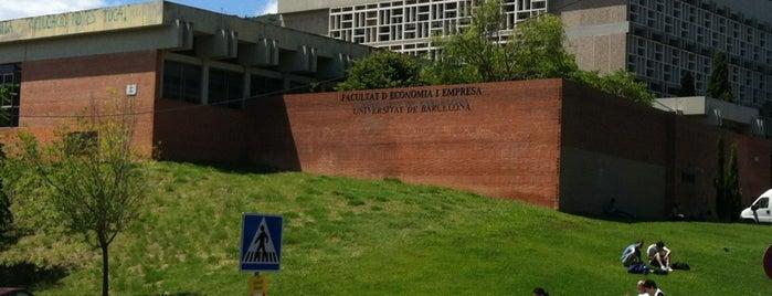Biblioteca de la Facultat d'Economia i Empresa UB is one of sitios.