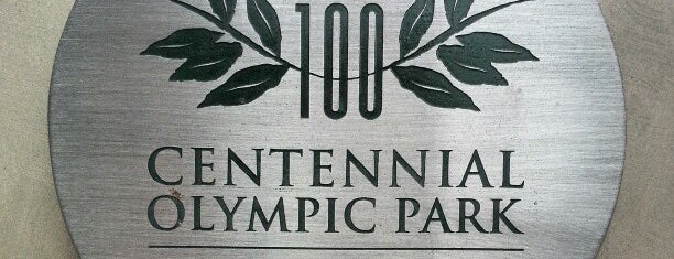 Centennial Olympic Park is one of Atlanta.