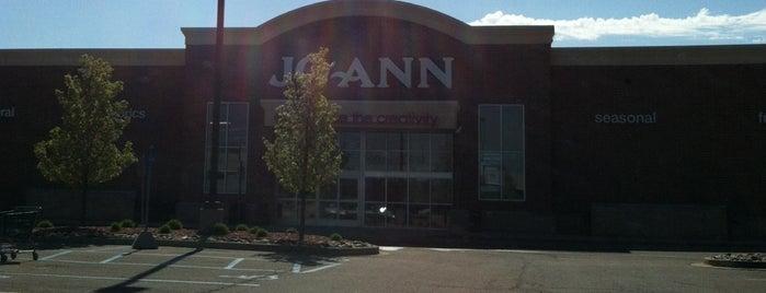 JoAnn Fabrics is one of The Best Shops.