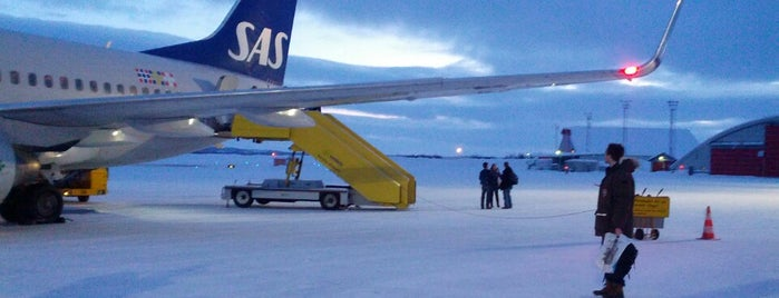 Kiruna Airport (KRN) is one of Claes 님이 좋아한 장소.