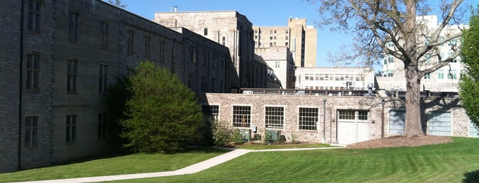 Latham Hall is one of Virginia Tech.
