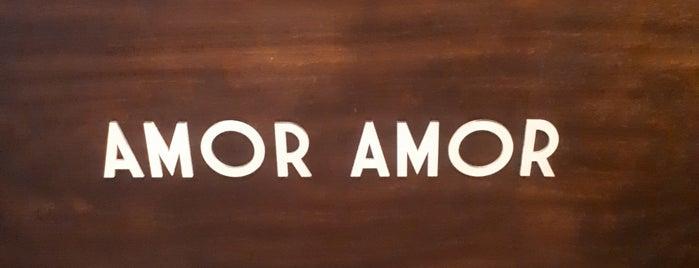 AMOR AMOR is one of Orte, die Eduardo gefallen.