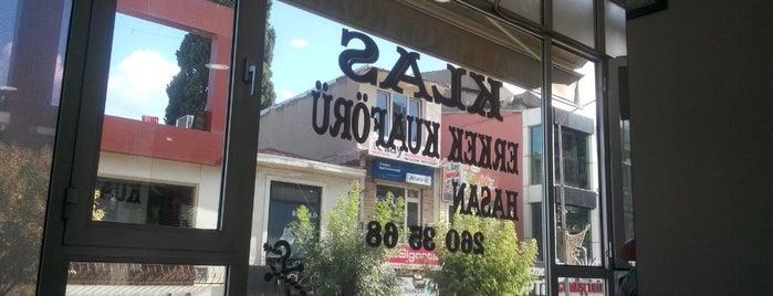 Klas Erkek Kuaförü is one of Yakup'un Beğendiği Mekanlar.