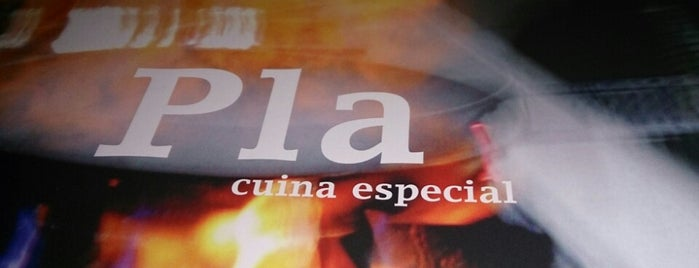 Pla Restaurant is one of Barcelona!.