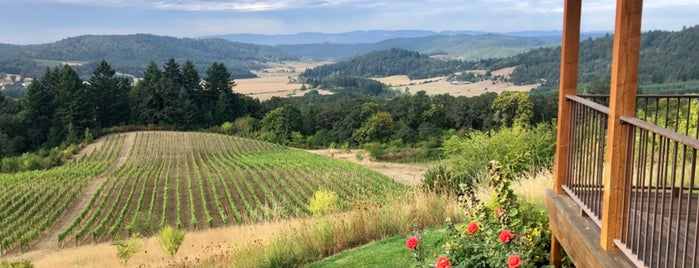 Youngberg Hill is one of Wine Country.