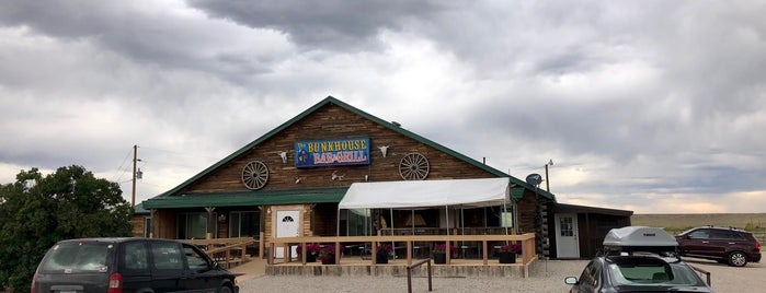 The Bunkhouse Bar and Grill is one of West to East XC trip.