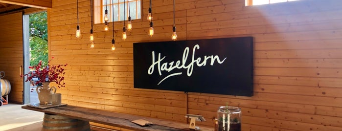 Hazelfern Cellars is one of wine country.