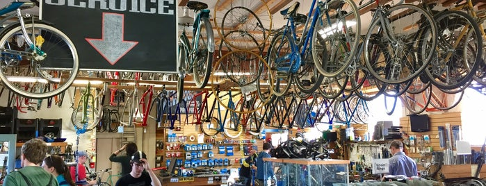 Recycled Cycles is one of Places We've Been To Or Hear Are Rad in Seattle.