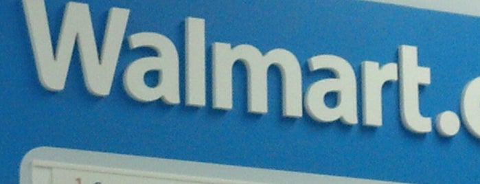 Walmart is one of OUT OF TTTTOWN.