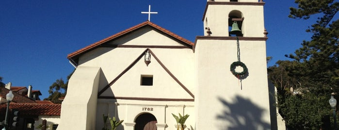 Mission San Buenaventura is one of California.