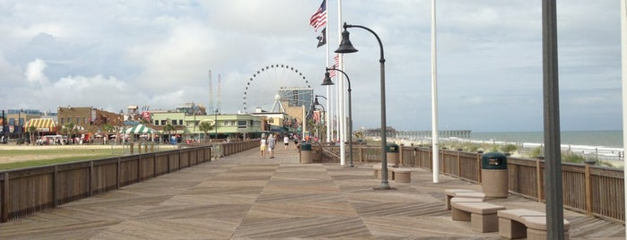 Myrtle Beach Boardwalk is one of Gespeicherte Orte von Lizzie.