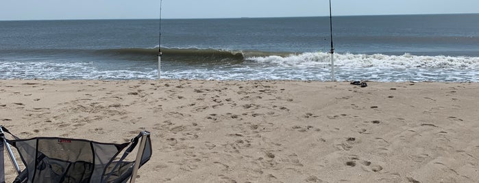 Drive-on Beach is one of Jen Randall on the Eastern Shore.
