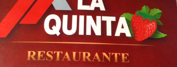 La Quinta is one of Locais curtidos por Santiago.