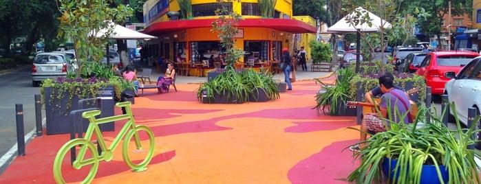Parque De Bolsillo Michoacan La Condesa is one of Mexico City.