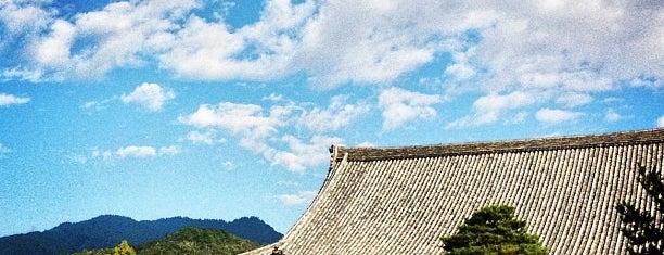 清凉寺 (嵯峨釈迦堂) is one of Arashiya temp.