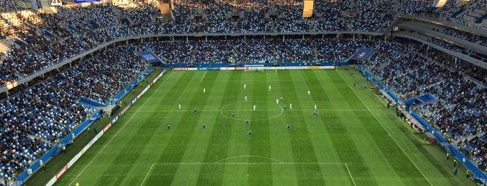 Nizhny Novgorod Stadium is one of Нижний Новгород.