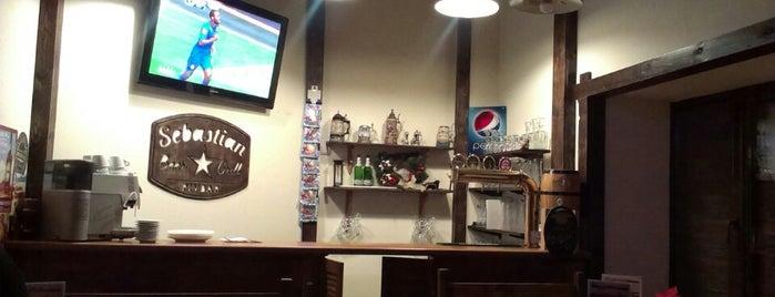 sebastian beer grill pivbar is one of สถานที่ที่บันทึกไว้ของ A.