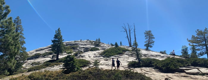 Sentinel Dome is one of Yousemite.
