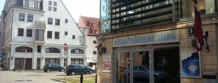 Rīgas Mākslas telpa | Riga Art space is one of Gespeicherte Orte von kir.