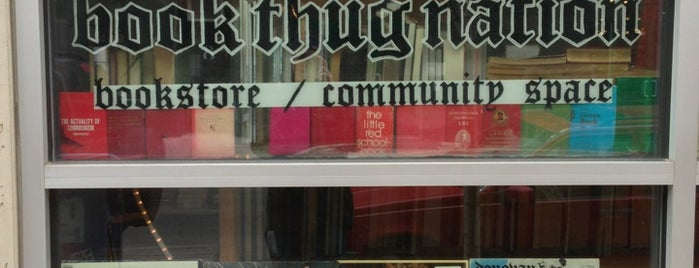 Book Thug Nation is one of NYC Williamsburg.