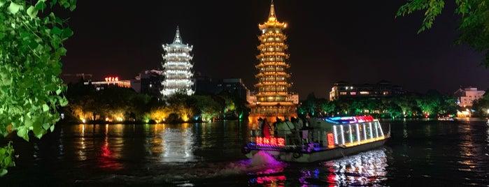 日月塔 is one of China.
