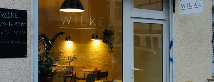 Wilke is one of Cafés Berlin.