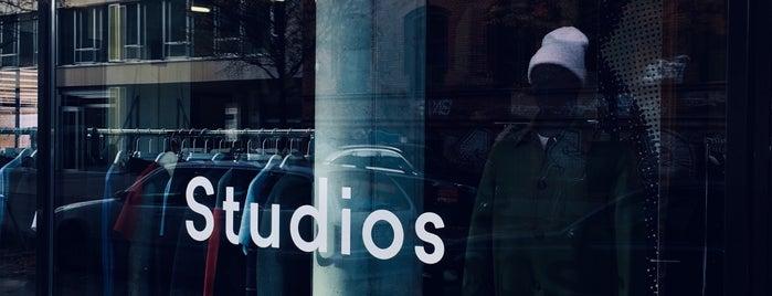 Acne Studios is one of Berlin.
