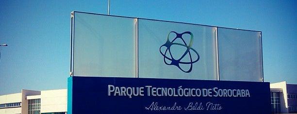 Parque Tecnológico de Sorocaba is one of Carinaさんのお気に入りスポット.