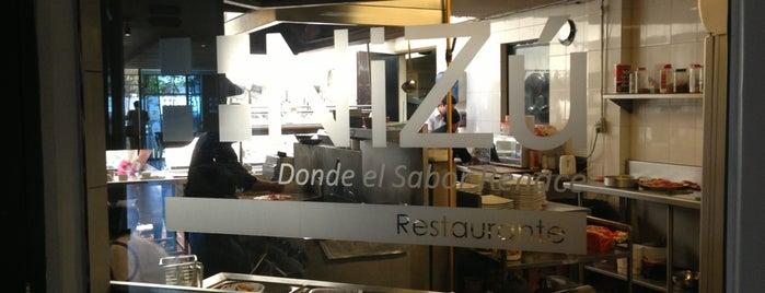 Restaurante Nizu is one of Locais salvos de Arturo.
