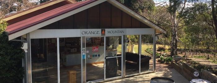 Orange Mountain Winery is one of Orange, NSW.