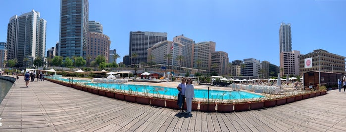 Beirut Marina Zaitunay Bay, بيروت لبنان is one of Dr. Maşuk Cahitさんのお気に入りスポット.
