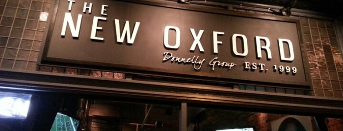 The New Oxford is one of Top 10 dinner spots in Vancouver, Canada.