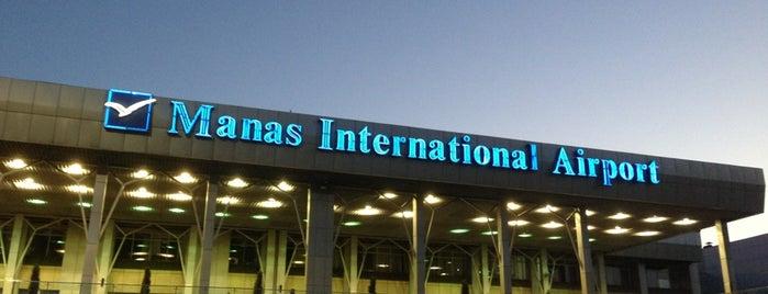 Манас эл аралык аэропорту / Международный аэропорт Манас / Manas International Airport (FRU) is one of Pelinさんのお気に入りスポット.