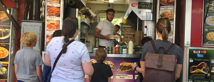 Shish Kabab is one of PDX Food Trucks.