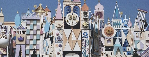 It's a Small World is one of Lugares guardados de Hard.