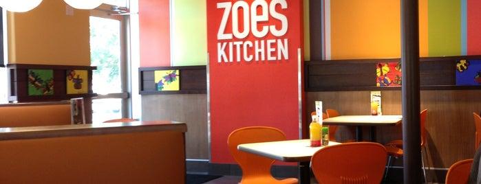 Zoës Kitchen is one of Austin - Restaurants Visited.