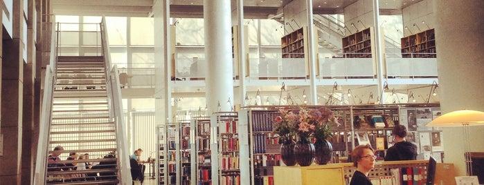 Malmö Stadsbibliotek is one of Yarışmayla Yap'ılanlar.
