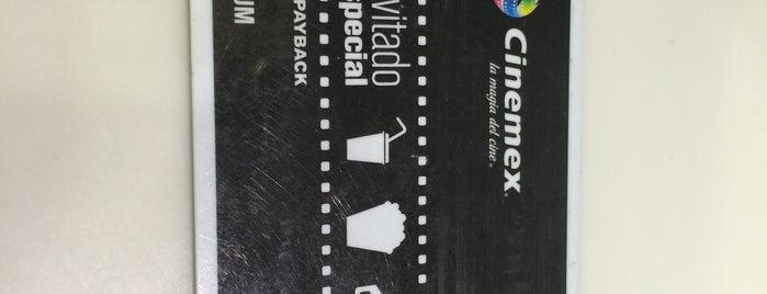 Cinemex is one of Lugares favoritos de Martin.