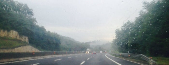 A1 - Roma Nord (A1 dir. Roma Nord) is one of Autostrada A1 - «del Sole».
