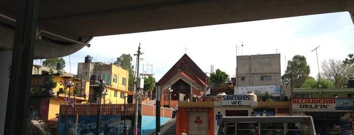 Iglesia San Andres Tomatlan is one of Locais curtidos por Alejandro.