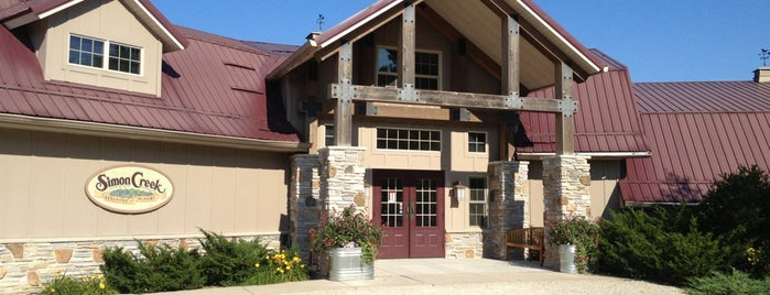 Simon Creek Winery is one of Wisconsin Wineries.