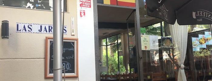 Las Jarras is one of Tempat yang Disukai Bob.