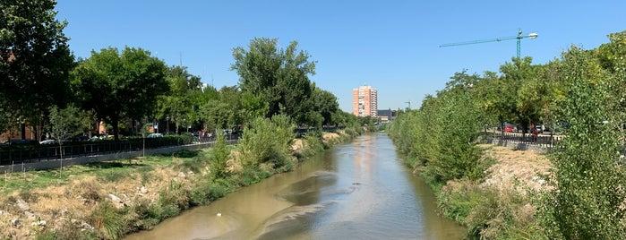 Pasarela de Almuñécar is one of Madrid Río: Puentes, pasarelas y presas.
